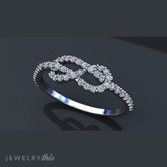 3D Jewelry Design: Promise Ring, Modern, Mother's Day, Organic style [1709-129512] » Jewelrythis