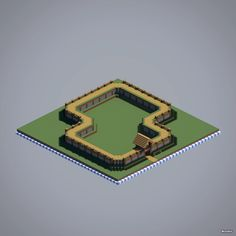 Minecraft Wall Ideas – Minecraft Wall - Mine Minecraft World Mine Minecraft, Easy Minecraft Houses, Minecraft Medieval, Minecraft Plans, Amazing Minecraft, Minecraft Games, Minecraft Blueprints, Minecraft Creations, Minecraft Crafts