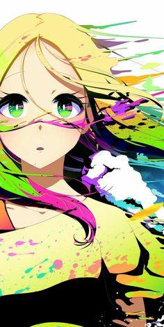 Arte Do Kawaii, Kawaii Art, Kawaii Anime Girl, Anime Art Girl, Manga Art, Manga Anime, Arte Cyberpunk, Anime Art Fantasy, Japon Illustration