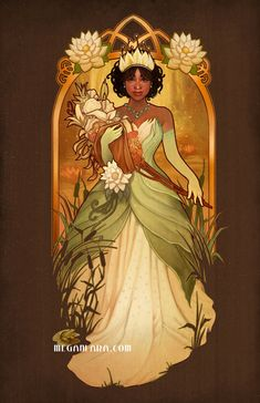 Almost There - Tiana - signed 11x17 poster print