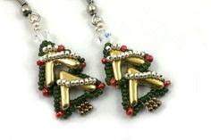 Beading4perfectionists: AVA goes..., 'Noël'. AVA beads beading pattern tutorial PDF file by b4pbakup on Etsy https://www.etsy.com/au/listing/477495620/beading4perfectionists-ava-goes-noel-ava