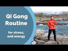 Qi Gong Routine for Stress, Anxiety, and Energy w/ Jeff Chand - YouTube