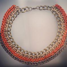 Collar hecho a mano por Klettissimo, podeis ver más cosas en mi pagina de Facebook Klettissimo