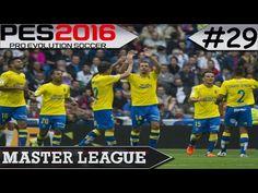 PES 2016 Master League #29 Las Palmas