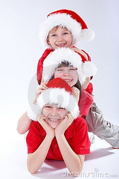 Christmas Kids Royalty Free Stock Photography - Image: 4145687