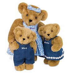 15'' Mother Bear from Vermont Teddy Bear $69.99. (Available with optional cubs) #MothersDay