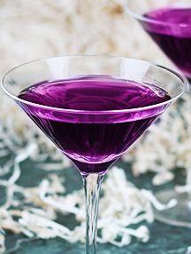 Fruit Tingle Candy Cocktail {Blue Curacao, Raspberry Cordial, & Sparkling Lemonade}
