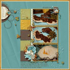 Layout by Wendy Tunison Designs using Autumn's Kiss