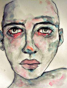 I have my suspicions. Abstract Faces, Abstract Portrait, Portrait Art, Art Visage, Modigliani, Distortion, Art Sketchbook, Face Art, Artist Art