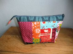 tutorial bag - Tasche. Mit quilt-as-you-go Methode.