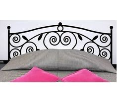 Wall Decor Decal Sticker Removable Vinyl headboard by qinqindecal, $24.99