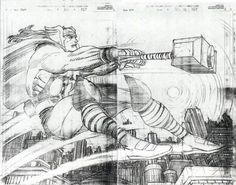 365 Reasons to Love Comics Comic Book Artists, Comic Artist, Comic Books Art, Marvel Comics Art, Marvel Heroes, John Romita Jr, Jr Art, The Mighty Thor, Spiderman Art