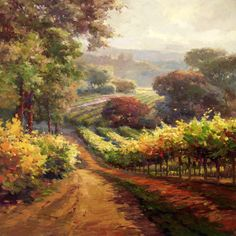 napa+wineries | Napa Valley Wine Country & Vineyard Art Paintings Photographs Giclee