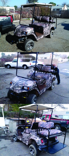 19 best BRIGADOON images on Pinterest | Golf carts, Art icon and Art Ezgo Golf Cart Touch Up Paint Drawings Of From The Green To Woods Mossy Oak Break Camo Wrap With A Few Html on