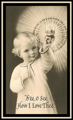 Through His love for us he came into world, and through the Eucharist He continues to love us.