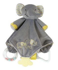 Another great find on #zulily! Gray Elephant Chewbie Lovey by Stephan Baby #zulilyfinds