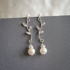 Original Design by Glamorous Bijoux® This listing is for the KACEY Earrings…