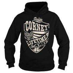 I Love Last Name, Surname Tshirts - Team CORNEY Lifetime Member Eagle T shirts