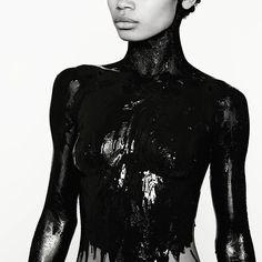 "Freda in ""Black on Black"". Photographer: @claudiovignola  #model #claudiovignolaphotographer #claudiovignola #love #loveher #girl #girls #beautiful #beauty #work #black #blackandwhite #nyc #losangeles #miamibeach #sydney #editorial #fashion #fashionista #body #like #followme #follow"