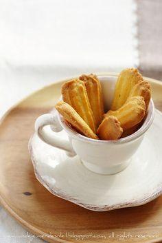 Krumiri di Casale. Biscuits italiens au maïs