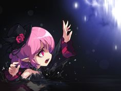 KMS ver. 1.2.303 – Black Mage: New Beginning! | Orange Mushroom's Blog Character Concept, Concept Art, Cute Anime Guys, Anime Girls, Black Mage, Realm Reborn, How To Make Drawing, Anime Style, New Beginnings