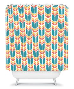 Take a look at this Tulip Shower Curtain on zulily today!
