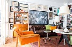 House Tour: A Designer's Small Eclectic D.C. Home | Apartment Therapy