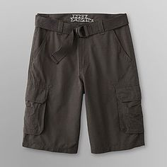 No Fear Young Mens Belted Cargo Shorts - Clothing - Young Mens - Shorts
