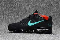 Cheap Nike Air Vapormax Flyknit Black Glacier Blue 2018 Online Nike Max, Nike Air Max Plus, Kicks Shoes, Jeans And Sneakers, Air Max Sneakers, Shoes Sneakers, Outlet, Nike Lebron, Nike Sportswear