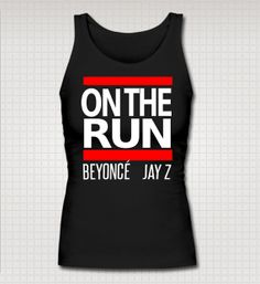 Beyonce and Jay Z On The Run Tour Run DMC Tank $15.00
