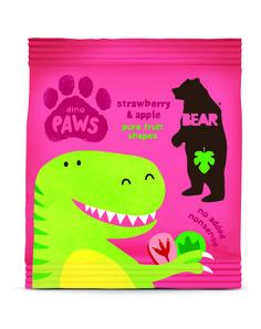 Bear Dino Paws Fruit Shapes, 100% pure fruit, no nasties