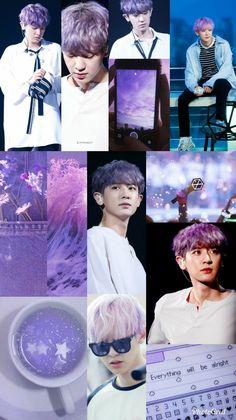 Cute boy 💕 Chanyeol Cute, Park Chanyeol Exo, Iphone Wallpaper Tumblr Aesthetic, Aesthetic Wallpapers, K Pop, Exo Album, Exo Lockscreen, Cute Korean Boys, Exo Members