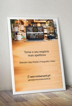 Projeto que trabalha a imagem e comunicação de #restaurantes ... Não é cool? :) http://www.omeurestaurante.pt