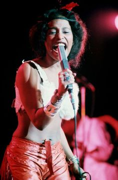 Born 1953 as Yvette Marie Stevens in Chicago, Illinois, American singer and songwriter Chaka Khan has her career spanned nearly five decades. Music Icon, Soul Music, Music Music, Black Is Beautiful, Beautiful People, Amazing People, Vintage Black Glamour, Vintage Soul, Vintage Beauty