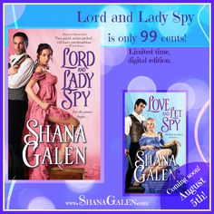 Last chance to get Lord and Lady Spy for 99 cents 99 Cents, Love Book, Spy, Lord, How To Get, Let It Be, Books, Libros, Book