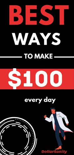 How To Make Money Fast: Creative Ways to Really Make $100 a Day Make Money Fast, Make Money Blogging, Make Money From Home, Legit Online Jobs, Online Jobs From Home, Fast Money Online, Business Money, Business Ideas, Make 100 A Day