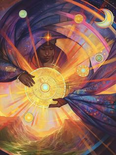 Sun Shepherdess by Julie Dillon on FB