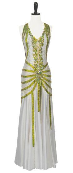 Kentucky Grass | Smooth  Standard Dresses | Encore Ballroom Couture