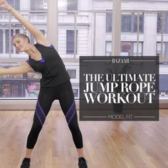 Here, we show you the ultimate jumprope workout to get you feeling toned in no time.
