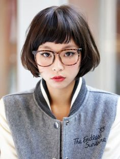 ideas for hair color asian casual Girl Short Hair, Short Hair Cuts, Short Hair Styles, Hair Color Asian, Pelo Bob, Japanese Hairstyle, Japanese Haircut, Corte Y Color, Short Hairstyles For Women