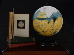 Handcrafted globes have become a lost art, a decline that rapidly increased with the advent of modern GPS technology. The tradition—dating back to the mid-2nd century B.C.—remains alive, however, by those who create their own orbs using classic construction techniques. #globes
