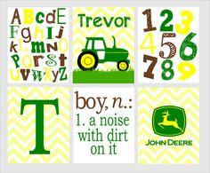 Nursery Print  John Deere Nursery  John Deere by ArdenRaeDesigns, $15.00