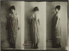 Winter fashion, 1917-1918