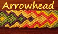 Pulsera de Hilo: Arrowhead