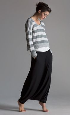 Still so in love with these harem pants! Eileen Fisher Spring 2013