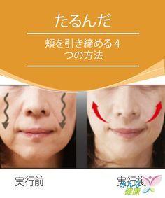 たるんだ頬を引き締める4つの方法 私たちの顔の造作のほとんどは遺伝によって決まりますが、正しい食生活を送り、ちょっとした手入れをしてやることで、ずいぶんと改善できます。