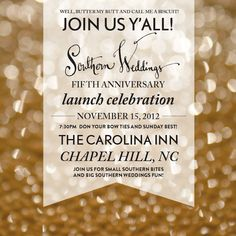 Southern Weddings V5 Launch Party