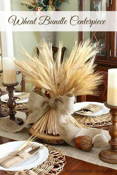 15 tables d'automne inspirantes décorées avec des éléments de la nature - Décoration - Lesmaisons