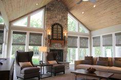 White Residence - rustic - family room - salt lake city - by Ironwood Custom Builders, Inc