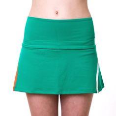 Falda de padel Naffta. Color verde, composición 88% PA Supplex, 12% EA lycra. - Máxima transpirabilidad, absorción de la humedad corporal y aislamiento térmico. Tambien ofrece, libertad de movimientos suavidad y flexibilidad. http://www.winpadel.com/ropa-de-padel/falda-de-padel-naffta-verde